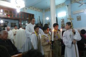 Holy Family Church in Gaza