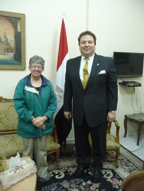 Lora and Ambassador Maher El-Adawy