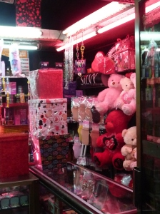 A store in Giza is ready for Valentines Day