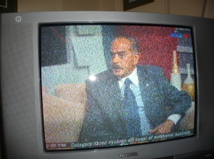 Egyptian Maj. Gen. Alaa Saad on TV Feb. 26.