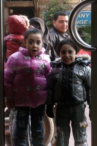 Young Egyptian children