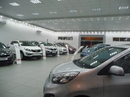 New car dealership in Gaza City