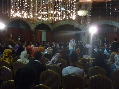 MPYM launch at Al Mathaf in Gaza