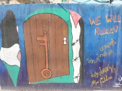 The key (miftah) to open the door to return.