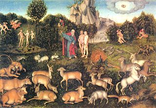 Garden of EdenLucas Cranach the Elder (1472–1553)