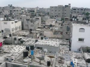 Jabaliya Refugee Camp in northern Gaza Strip.