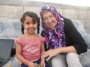 Beautiful child in Jabliya Refugee Camp
