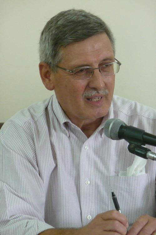 Norman Olsen, retired U.S. diplomat