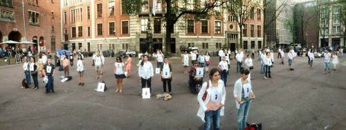 Standing in Amsterdam