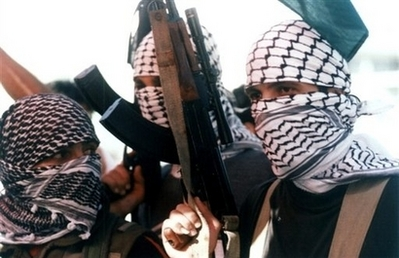 Palestinian fighters