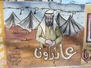 Refugee camps.