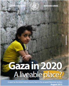 UN predicts Gaza will be unlivable by 2020.