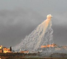 White phosphorus used against Gaza in Operation Cast Lead