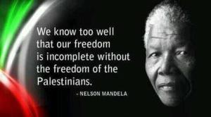 Mandela on Palestinians