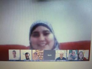 Nour El Borno, contributor, in Gaza