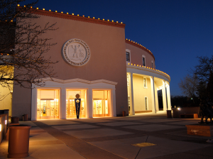 New Mexico State Capitol Building - called the Roundhouse