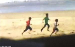 Palestinian boys on the beach in Gaza killed by IDF July 2014.