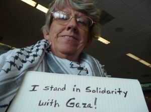 Lora stands in solidarity with Gaza (July 9, 2014)