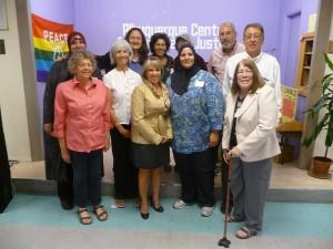Meeting with Representative Michelle Lujan-Grisham (center front)