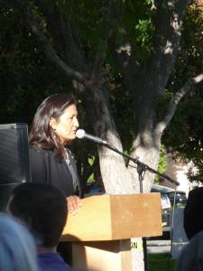 Debra Haaland, candidate for Lt. Gov.