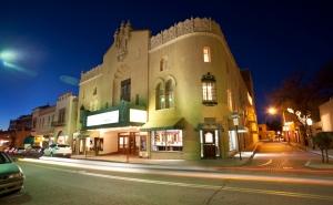Lensic Performing Arts Center in Santa Fe, NM