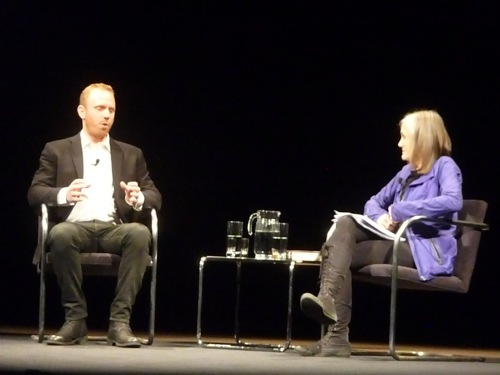 Max Blumenthal and Amy Goodman
