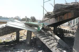 Palestine Stadium destroyed by Israel in November 2012