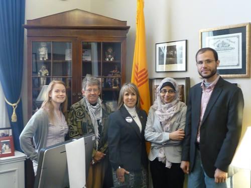 Meeting with CongresswomanMichelle Lujan-Grisham