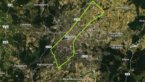 Berlin - population 3.502 million (2012)