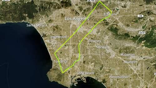 Los Angeles - population 3.858 million