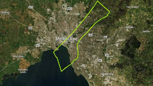 Melbourne - population 4.077 Million (2010)