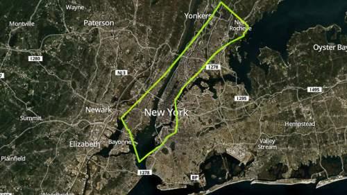 New York City - population 8.405 million (2013)