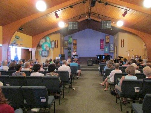 Book event at the Center for Spiritual Living in Albuquerque, NM