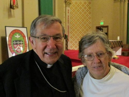 Bishop Denis Madden and Lora