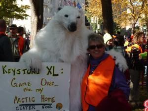 November 2011 in front of the White House