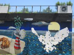 Mural in Patras, Greece