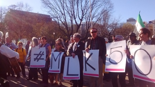 MLK50 sign
