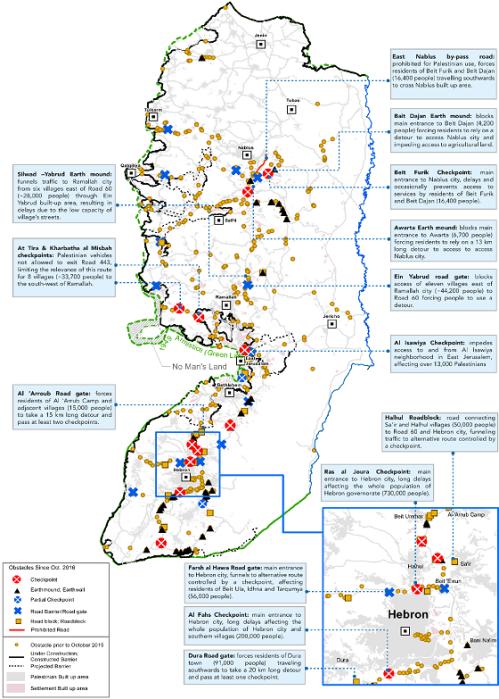 Hebron map closures