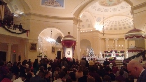 Xmas Eve Mass Holy Communion 2
