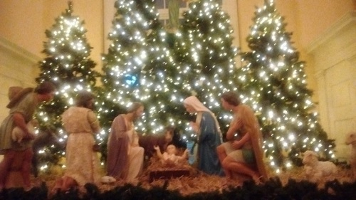 Xmas Eve Mass nativity