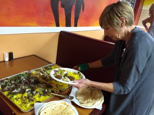 Laura Stokes and good food