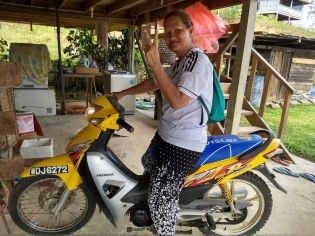Bario motorcycle ride