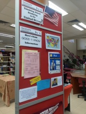 Public library encourages students to study in the USA
