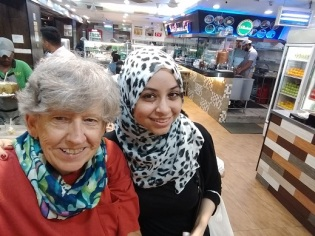 Kuala Lumpur with Randah -- last dinner