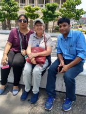 New friends from India in downtown KL