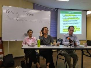 Penang highway press conference