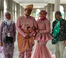 Wedding at the Mosque
