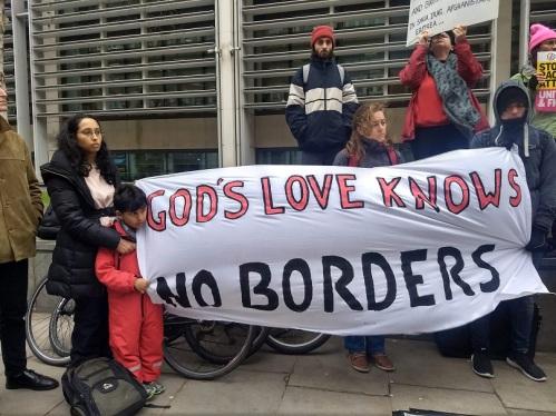 Protest refugees 8