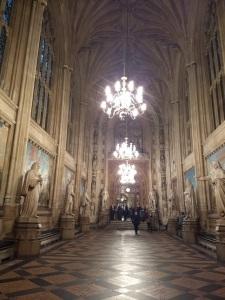 UK Parliament interior