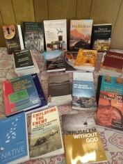 Books going to Gaza